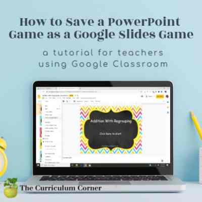 Convert a PowerPoint Game to Google Slides