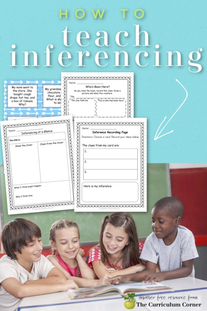 This collection of teaching inferencing activities is meant to help your students understand what inferences are and how to make them.
