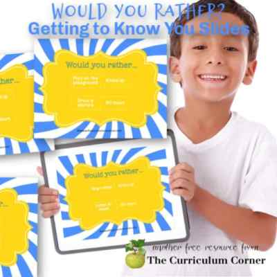 Virtual Would You Rather Introduction Activity
