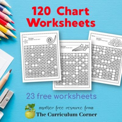 120 Chart Worksheets