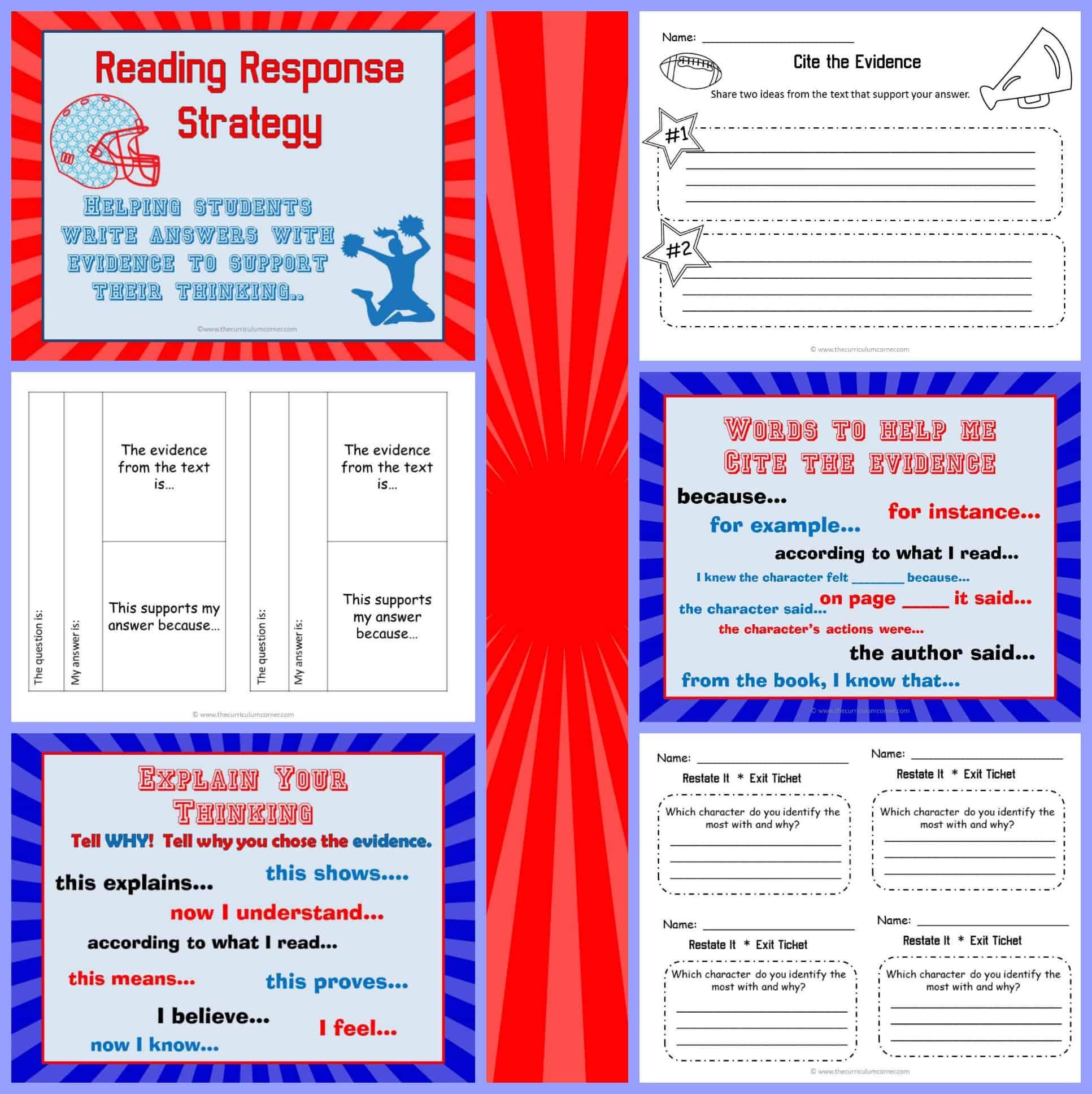 Reading Response Strategy