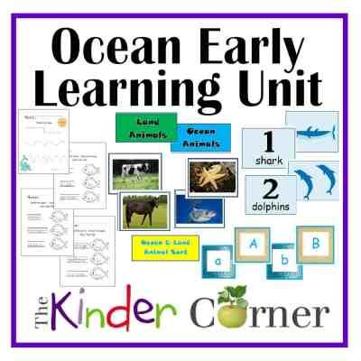 Ocean Themed Unit