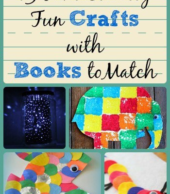 Guest Post:  13 Fantastically Fun Crafts with Books to Match