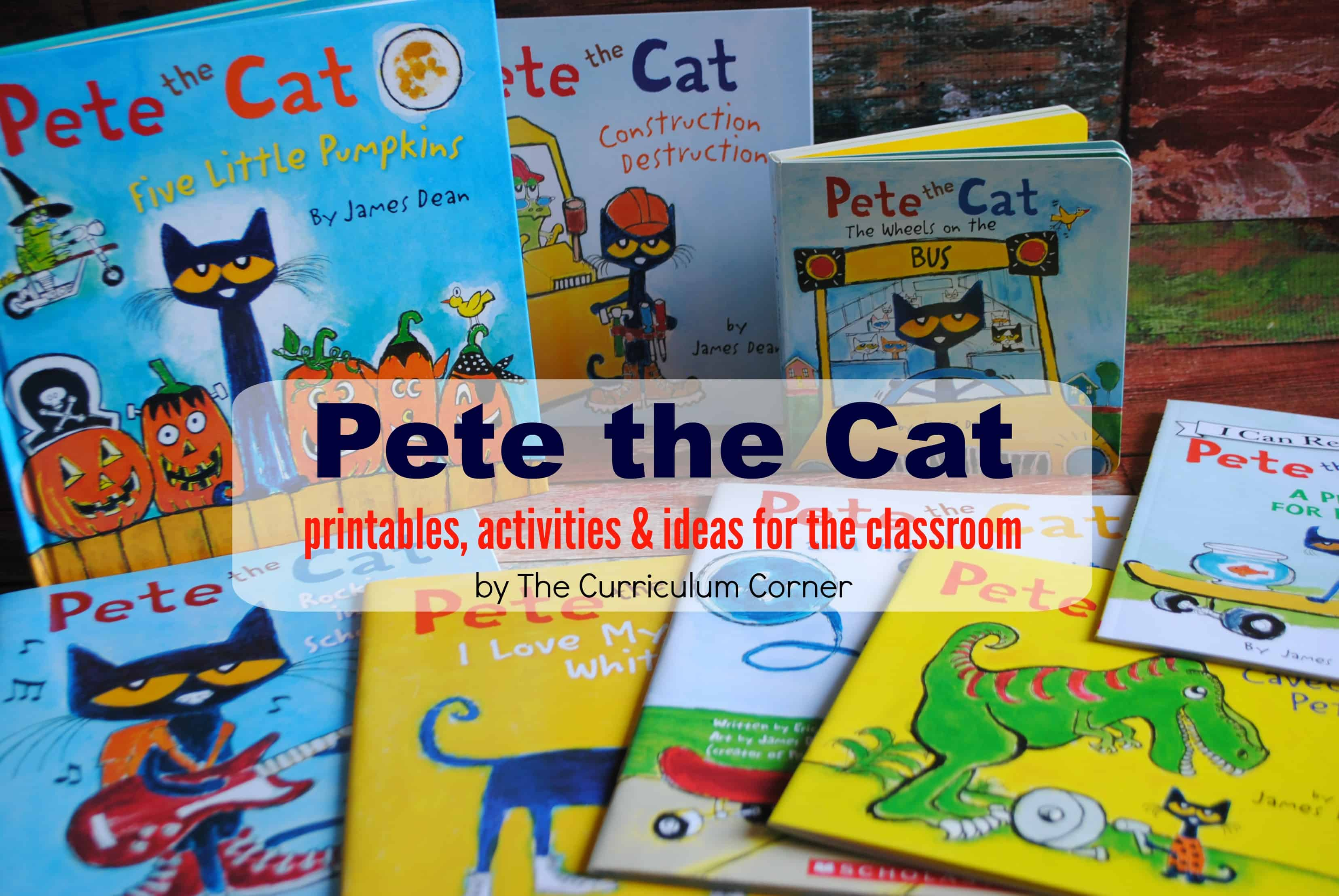 Pete the Cat Resources  The Kinder Corner