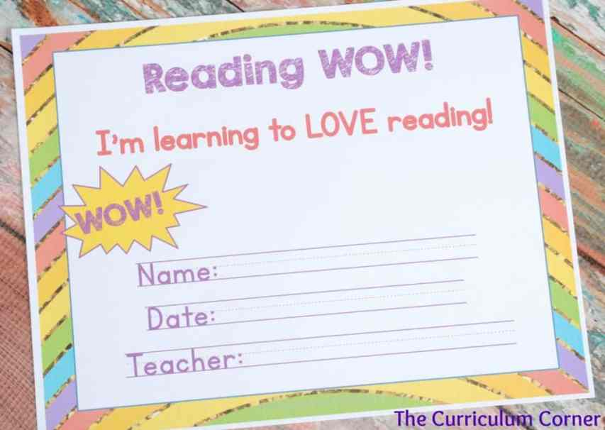 READING WOW! FREE! Getting ready to read launching reading workshop for kindergarten unit of study from The Curriculum Corner