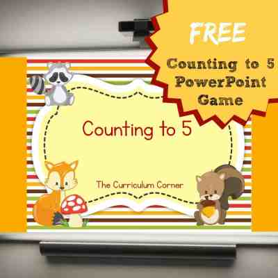 Counting 1 – 5 PowerPoint Game