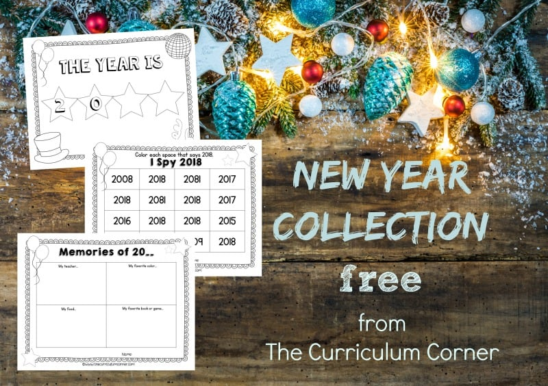 Use this set of New Year Classroom Ideas to give your classroom a new start in the New Year.
