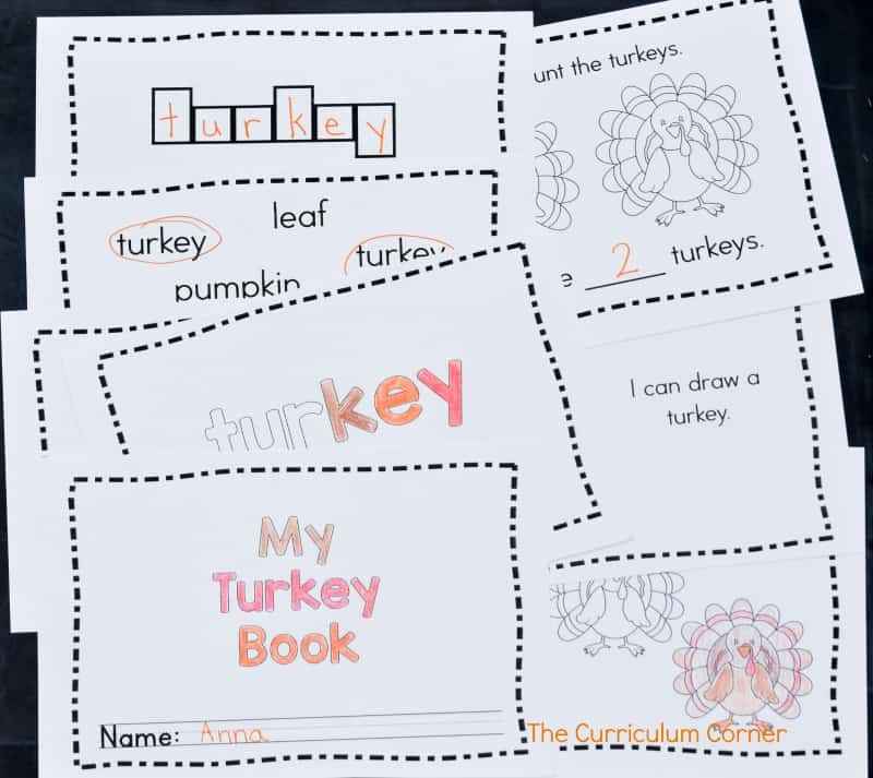 This simple turkey emergent reader is perfect for your kinders! It will be a great free addition to your fall curriculum.
