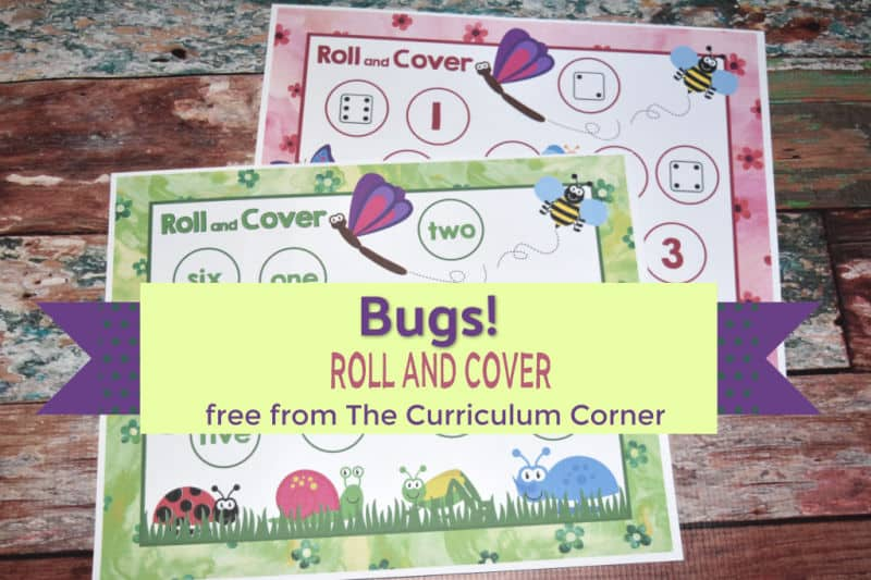 free bugs roll and cover games