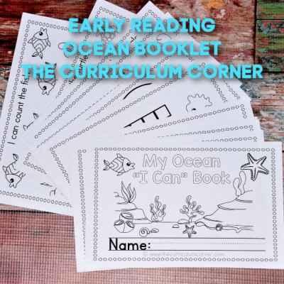 Ocean Reading Booklet