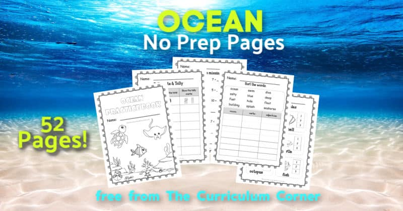 ocean worksheets