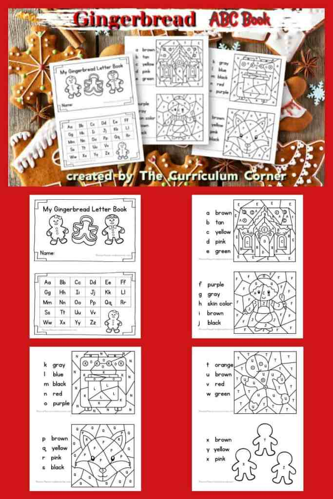 gingerbread ABC books