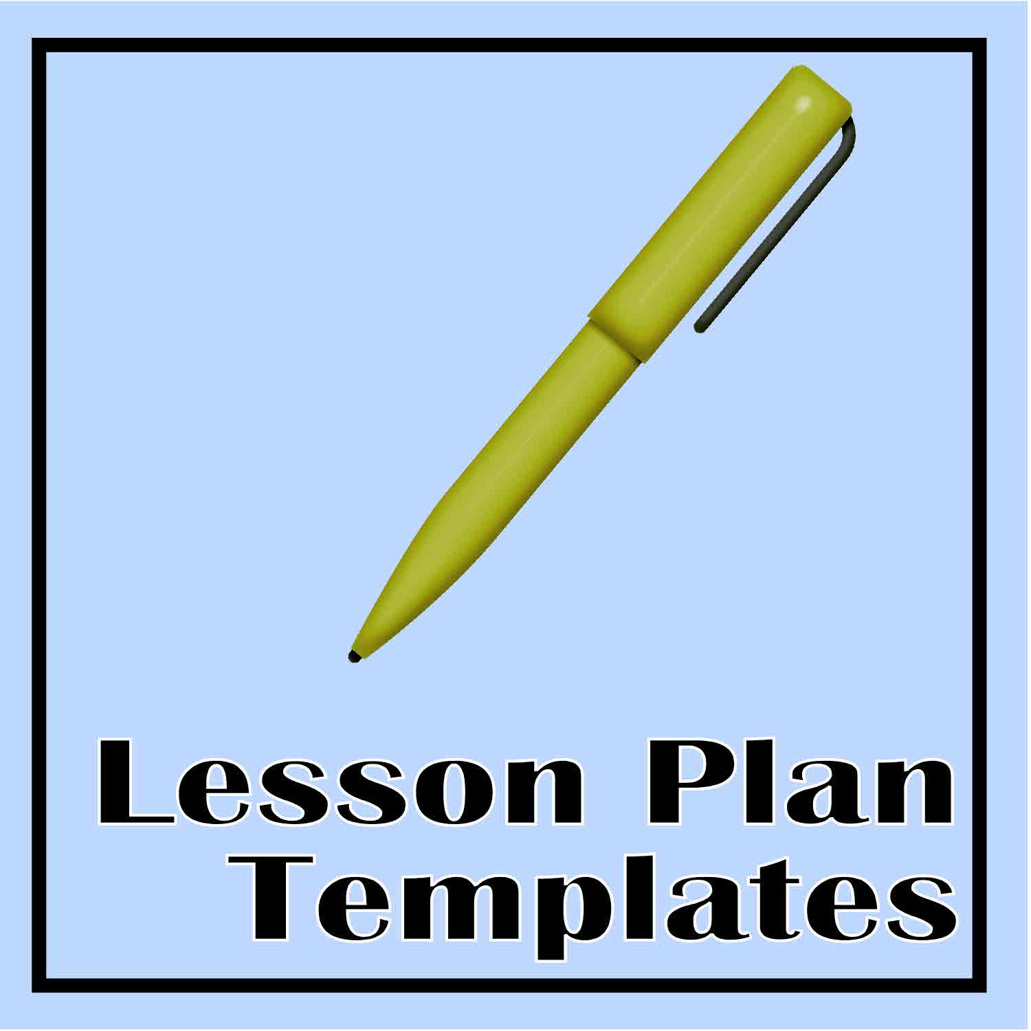 Lesson Plan Templates The Curriculum Corner - Fillable lesson plan template