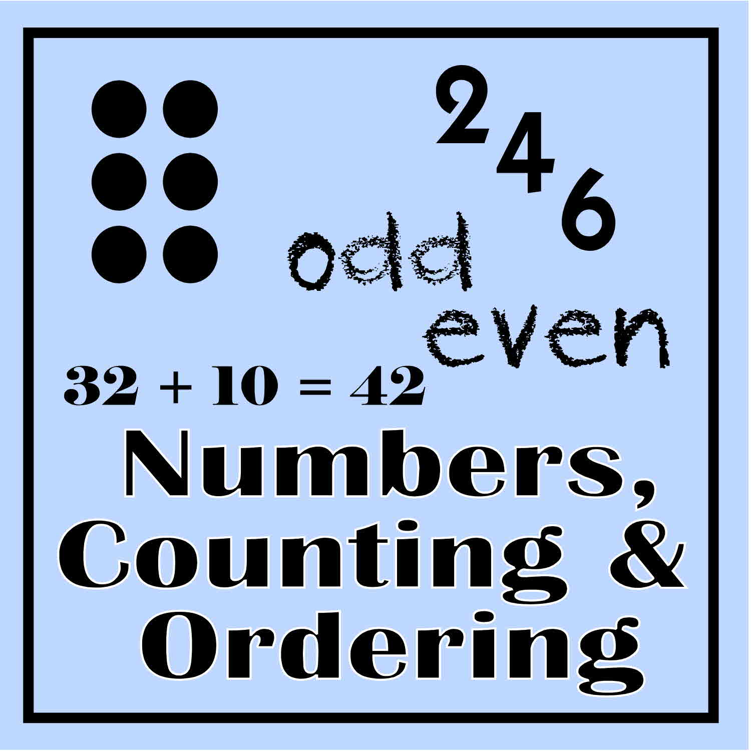 Numbers Counting Amp Ordering 1st 2nd Grade Number Sense Unit