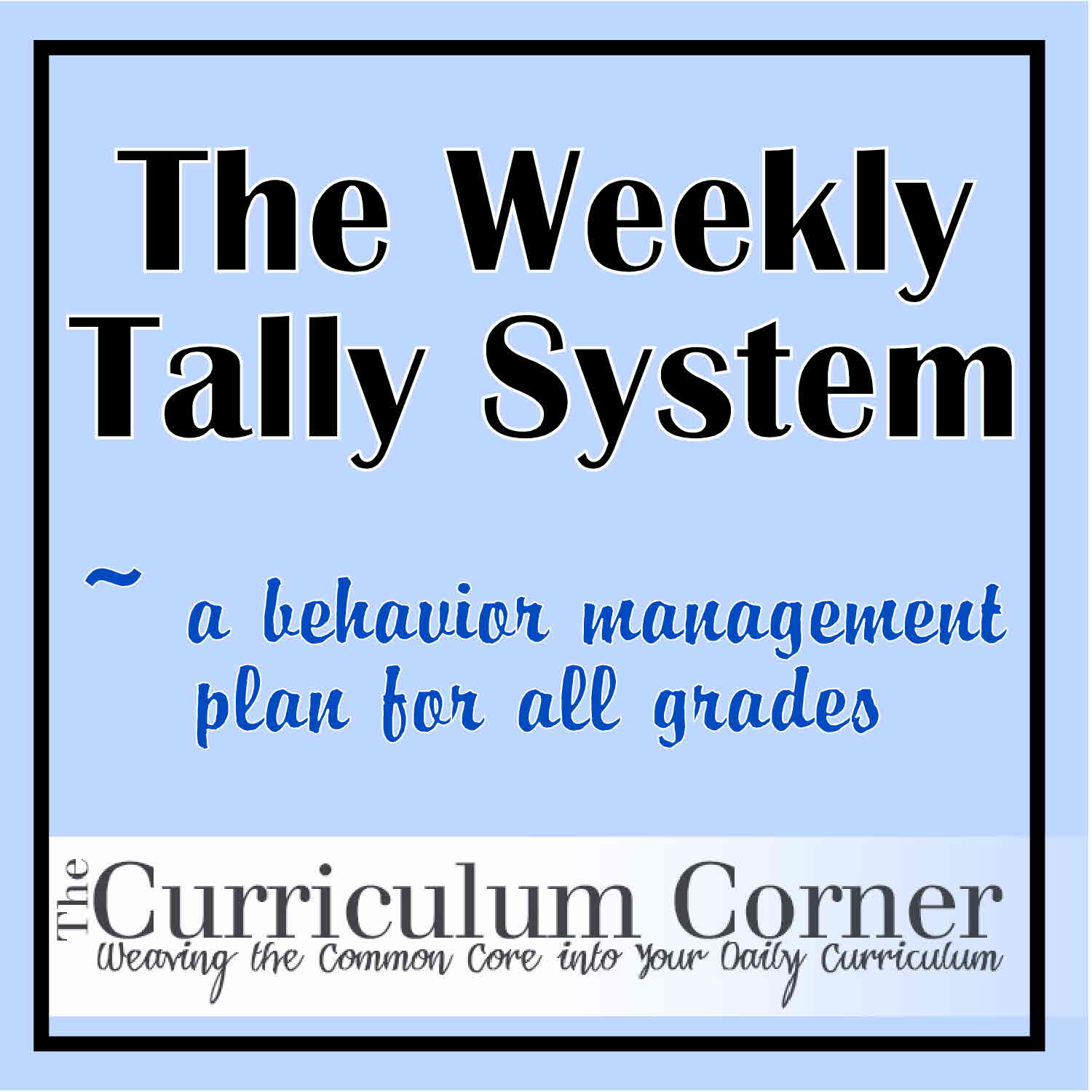This is a great daily system to help improve student behavior! Begin by  printing the weekly tally chart. This chart has a spot for you to write/  type each ...