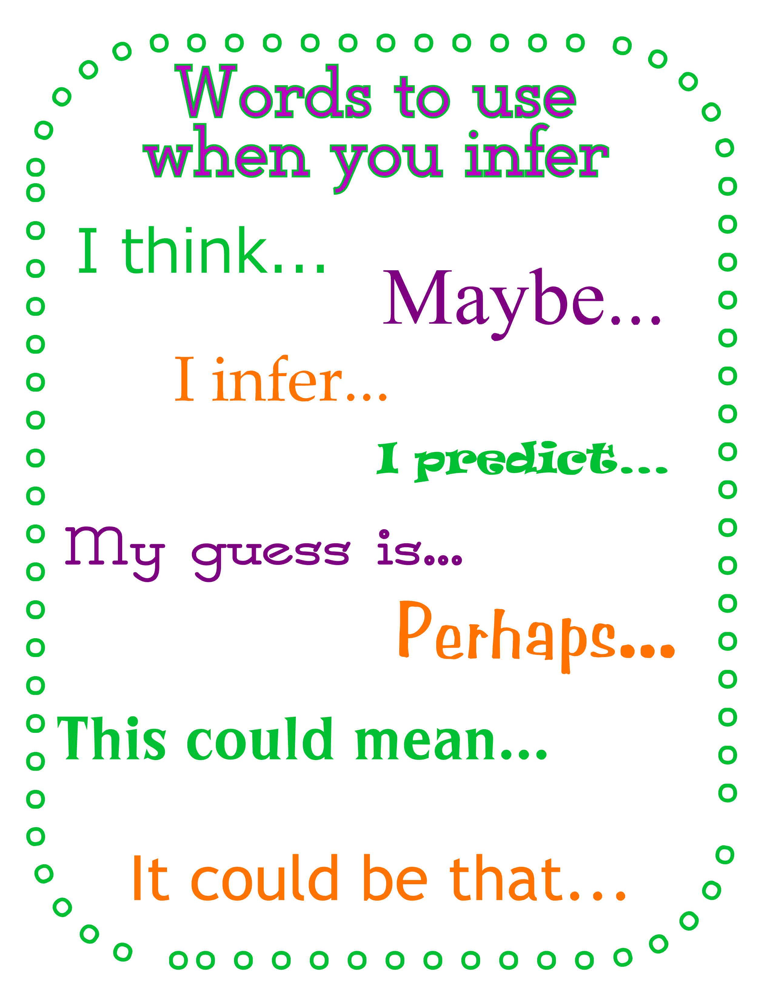 worksheet Inference Worksheets 4th Grade inferring from photo prompts the curriculum corner 123 save