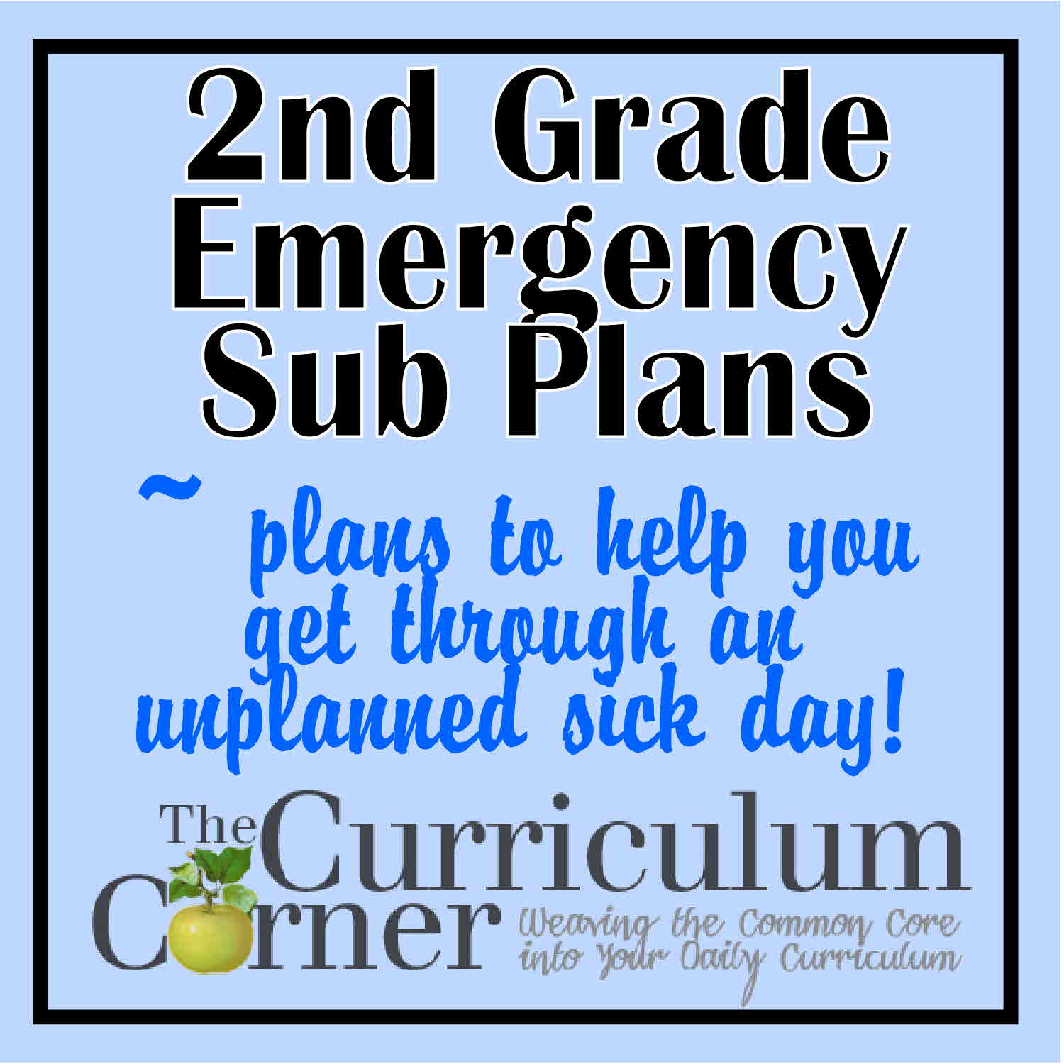 Worksheets Second Grade Social Studies Worksheets 2nd grade emergency sub plans the curriculum corner 123 plans