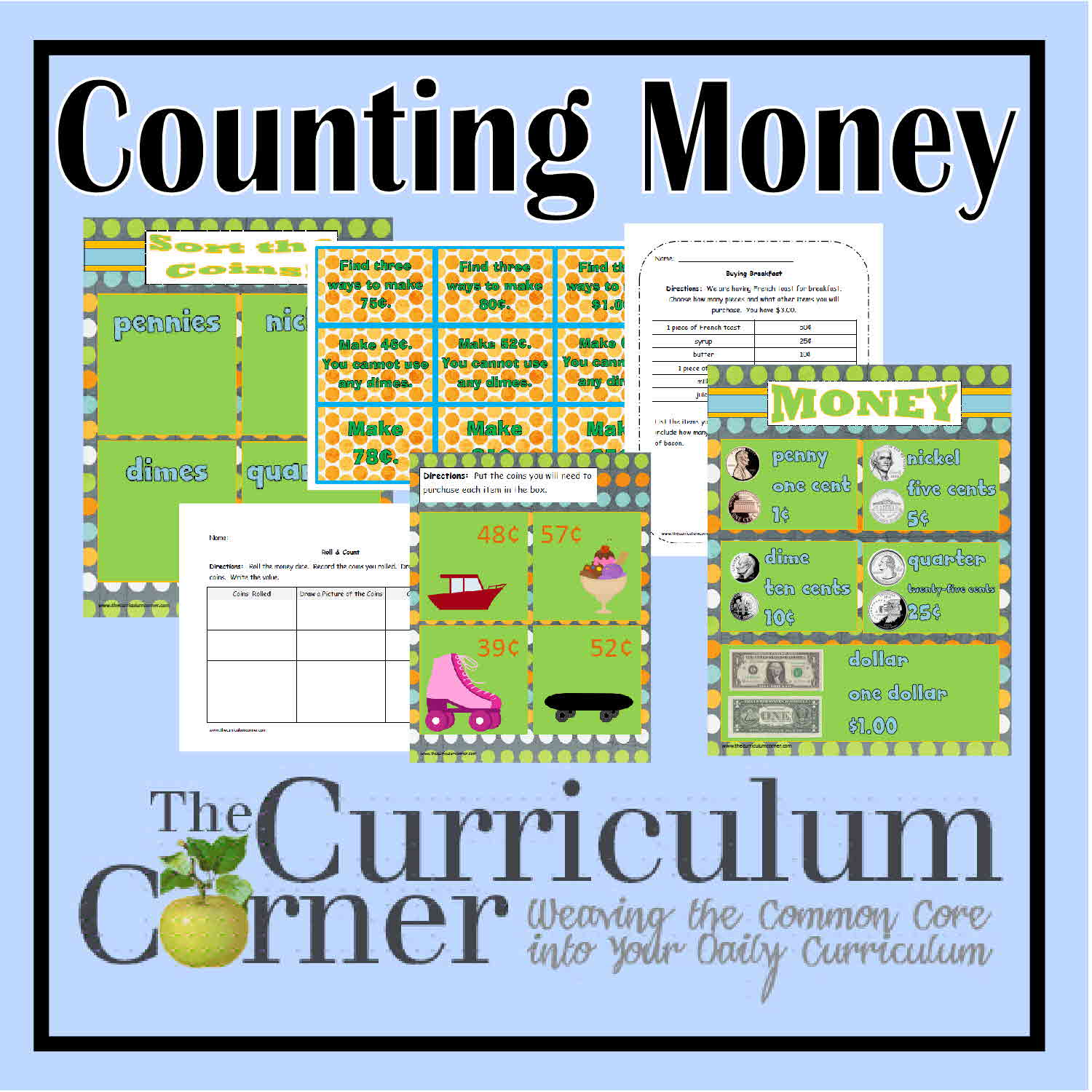 Counting Money Activities