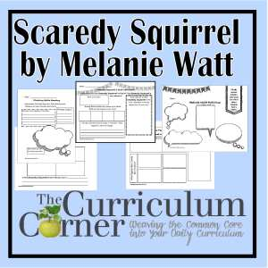 Scaredy Squirrel Books by Melanie Watt