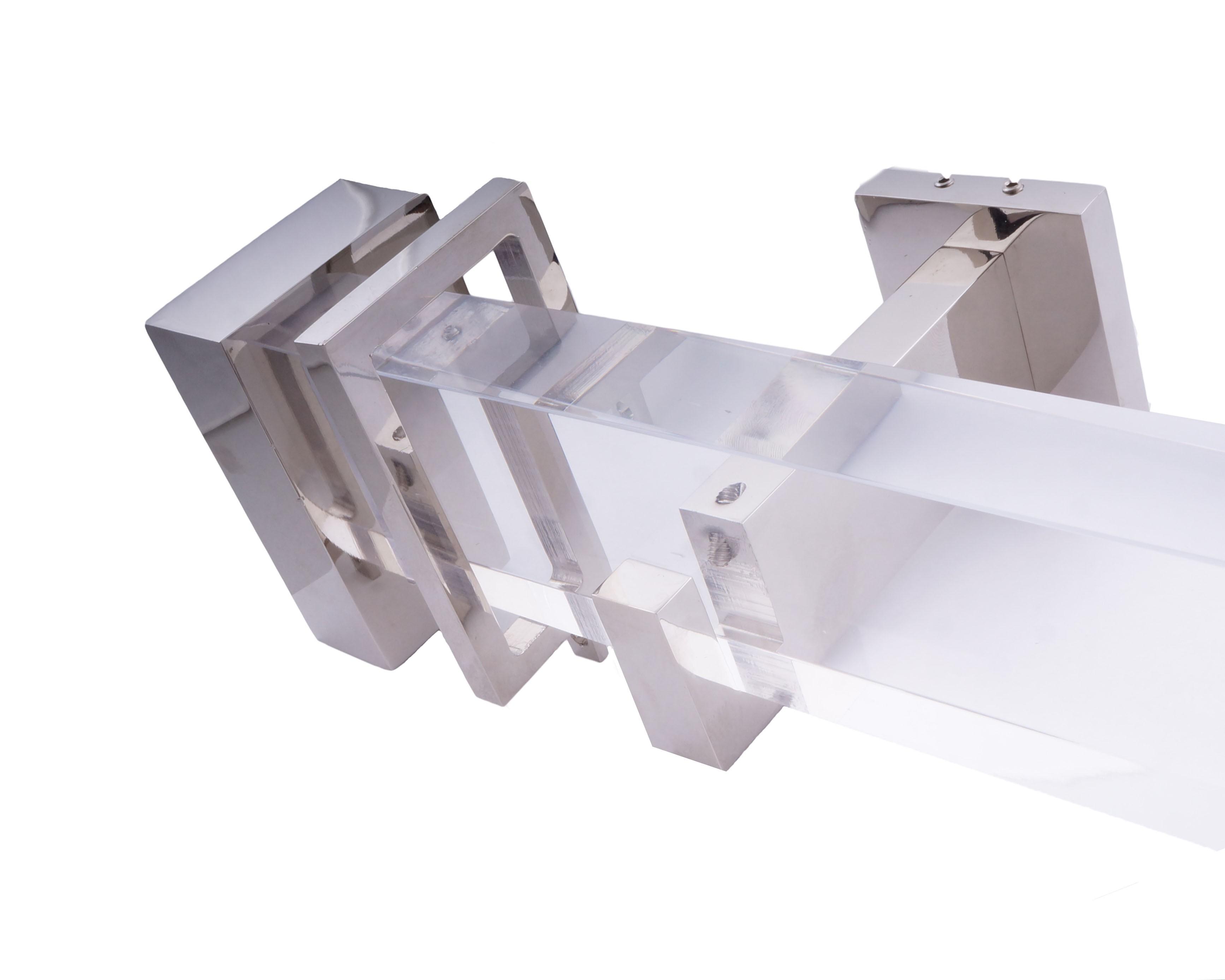 Lucite Acrylic Bracket For 1 18 Rod Diameter Each