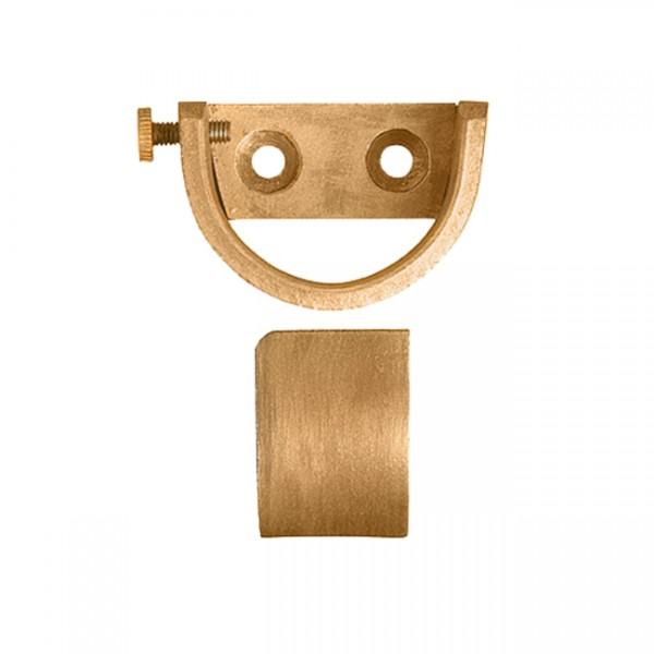inside mount curtain rod bracket for 1 3 8 drapery rods pair