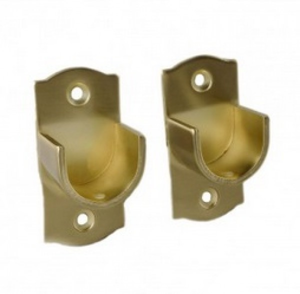 inside mount cup bracket for 1 1 8 drapery rod pair