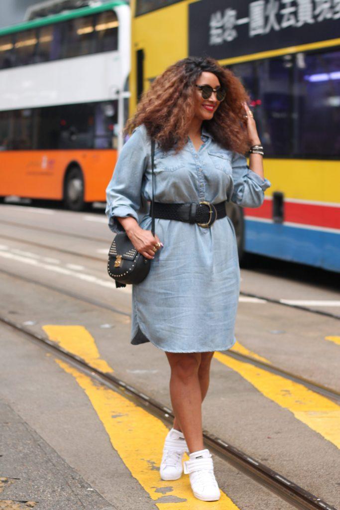 Zizzi fashion denim dress