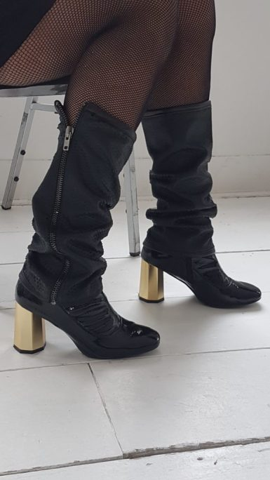 Bootiez zipper