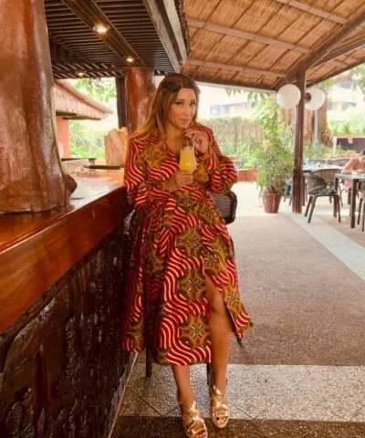 METALLIC GOLD || LADY AFRICA 11