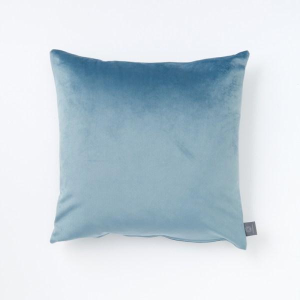 plain-light-teal-faux-velvet-cushion