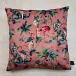 Flamingo & Hot Pink Cushion
