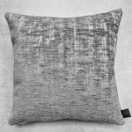 Pale Blue/Grey Embossed Cushion
