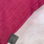 Pink Plain Outdoor Cushion