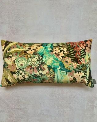 Rainforest Neon Lumbar Cushion