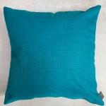 Turquoise Plain Outdoor Cushion