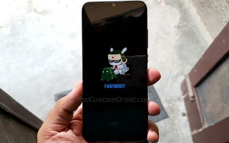 Разблокируйте загрузчик Xiaomi Mi A3 - войдите в режим быстрой загрузки