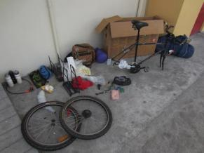 Putting the bike together