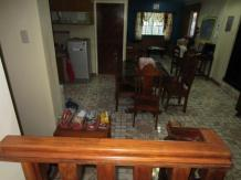 The Common Area of Mayon Backpackers Hostel
