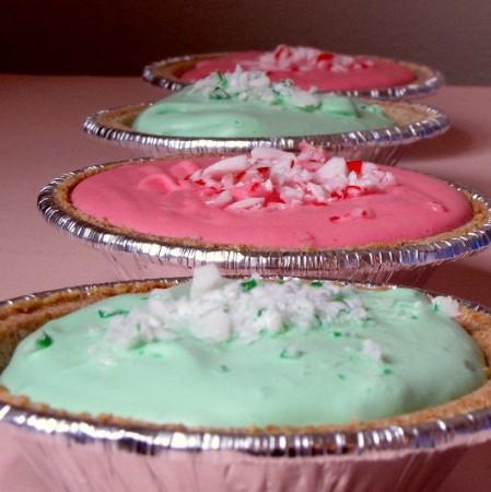 No-Bake Peppermint Pie