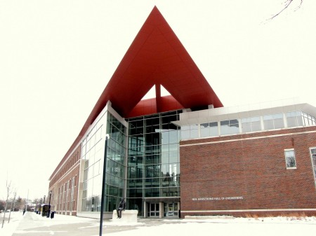 Purdue's new Neil Armstong building