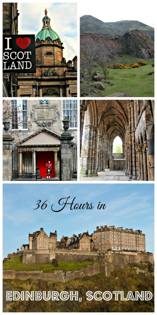 36 hours in Edinburgh, Scotland www.thedailyadventuresofme.com