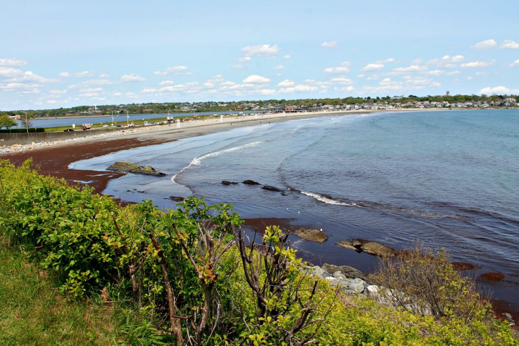 First Beach, also known as Easton's Beach, Newport, Rhode Island