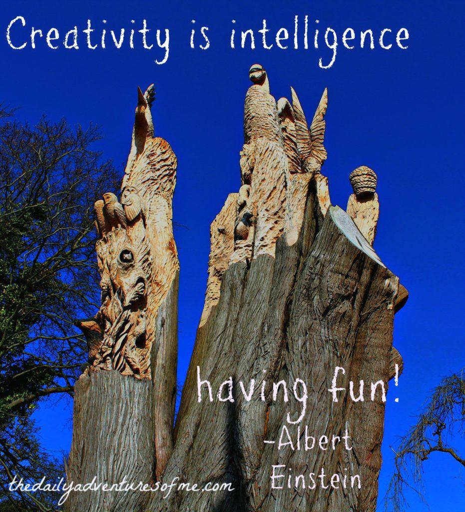 Thursday Travel Inspiration: Creativity Albert Einstein www.thedailyadventuresofme.com