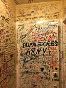 Bathroom of the Elephant House, Edinburgh, Scotland thedailyadventuresofme.com
