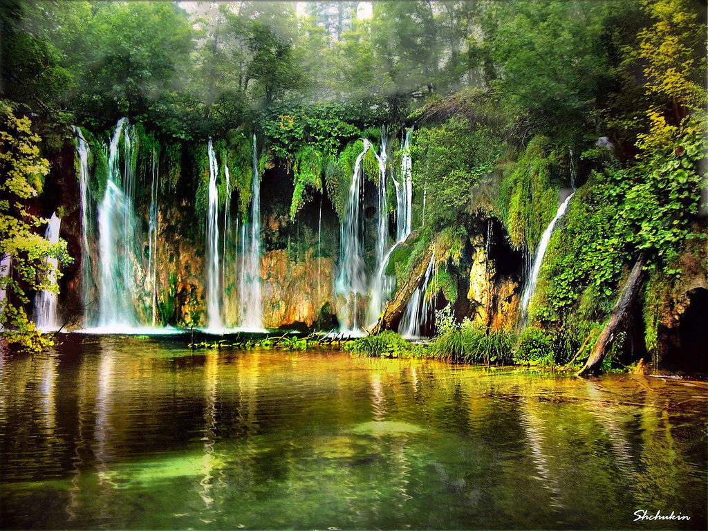 The Water Music at Plinvitkin National Park Croatia by Alexander Shchukin on Flickr