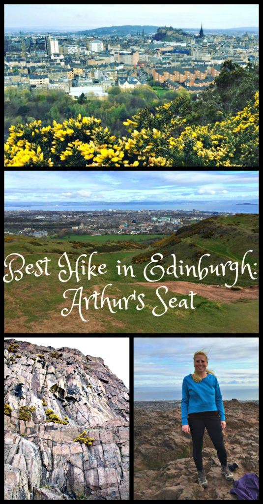 Tips for climbing Arthur's Seat in Edinburgh, Scotland for the best view of the city. www.thedailyadventuresofme.com