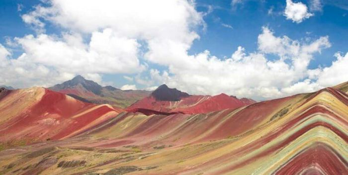 A Rainbow Fell To Earth The Incredible Rainbow Mountain Of Peru The