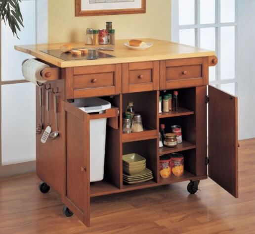 Unique Small Kitchen Island Ideas To Try: 19 Unique Small Kitchen Island Ideas For Every Space And