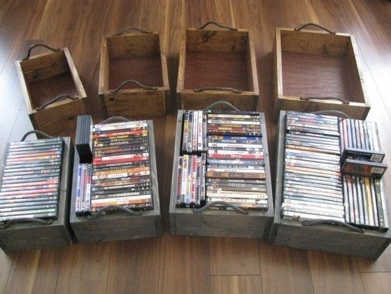 20+ Unique Stylish CD And DVD Storage Ideas For Small Space