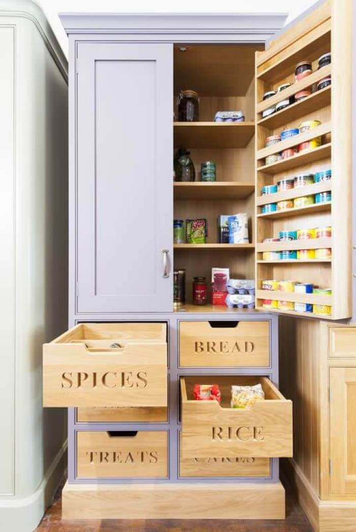 Kitchen Storage Ideas For Plastic Containers